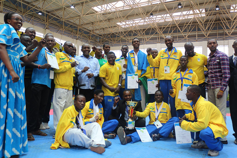 Rwanda will be looking to defend their title at the African Para Taekwondo Championship later this month ©Rwanda Taekwondo