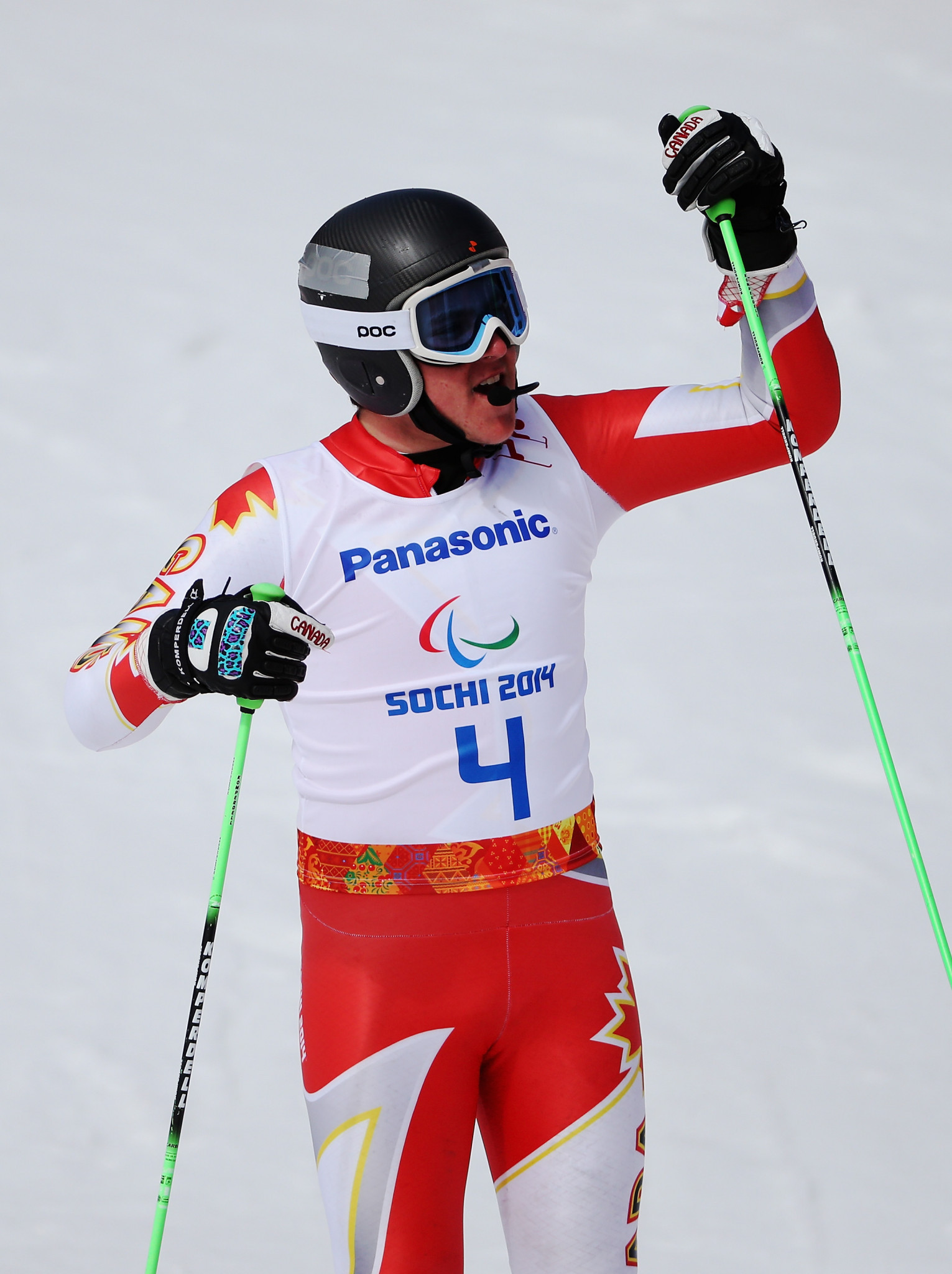 Mac Marcoux won one gold medal and two bronze at Sochi 2014 ©Getty Images