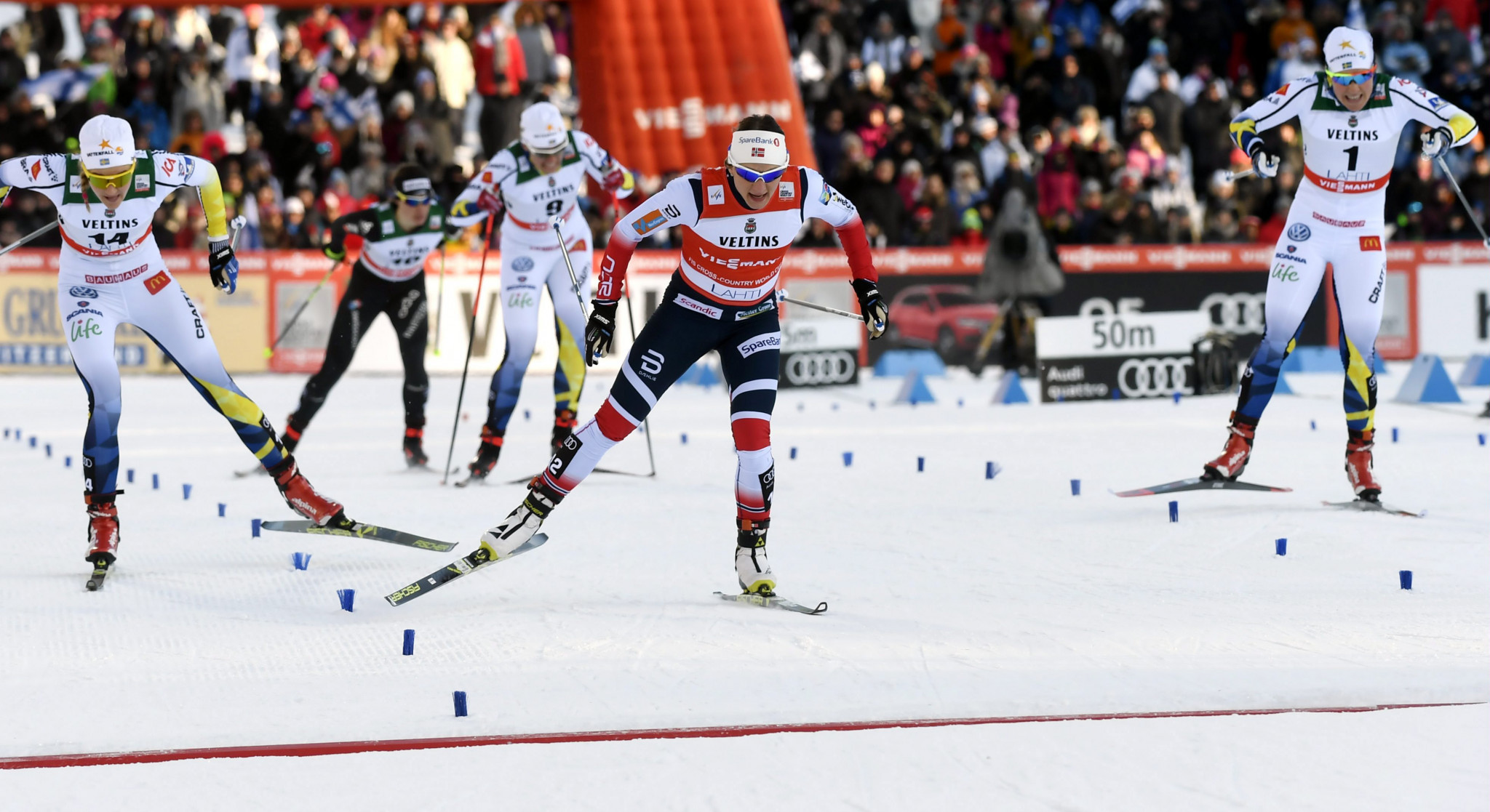 Falla aims to clinch overall sprint title on home snow at FIS Cross-Country World Cup in Drammen