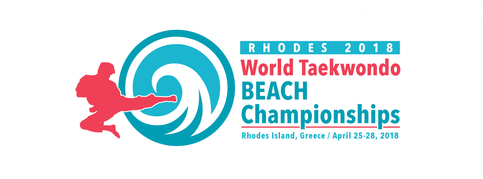 Organisers confirm venue and reveal logo for 2018 World Taekwondo Beach Championships in Rhodes