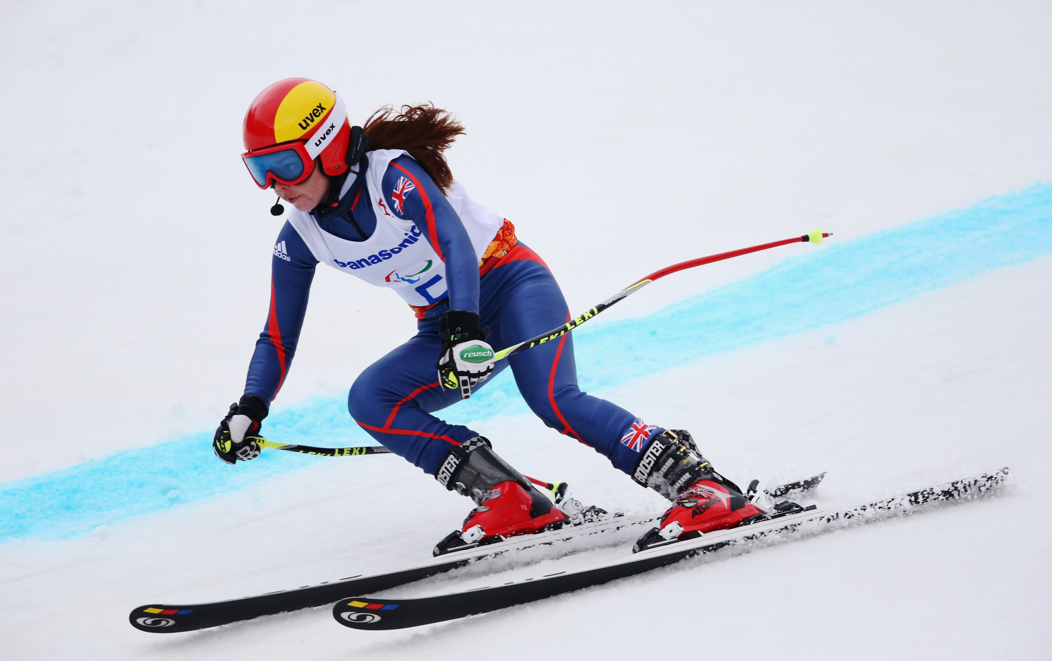 Jade Etherington, who won four medals in Para-Alpine skiing at Sochi 2014, is among the former athletes to have benefited from the Paralympic Inspiration Programme ©Getty Images