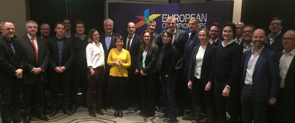 The EBU provided an update on the number of broadcasters who are set to cover the Championships ©European Championships