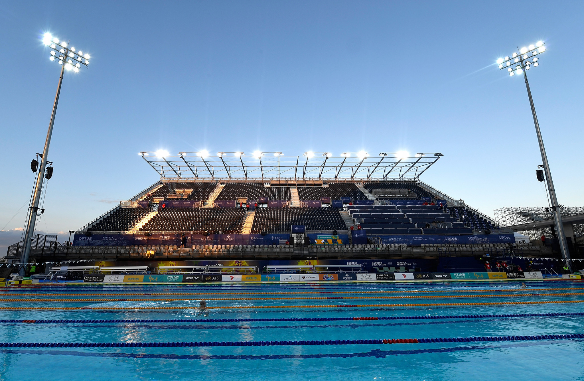 Australian swimming will return to the Gold Coast for the first time since 2018 ©Getty Images