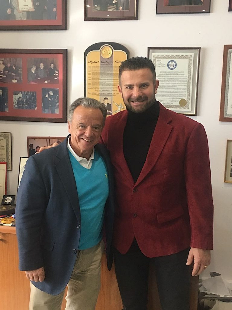 IFBB President welcomes Romanian delegation to Madrid