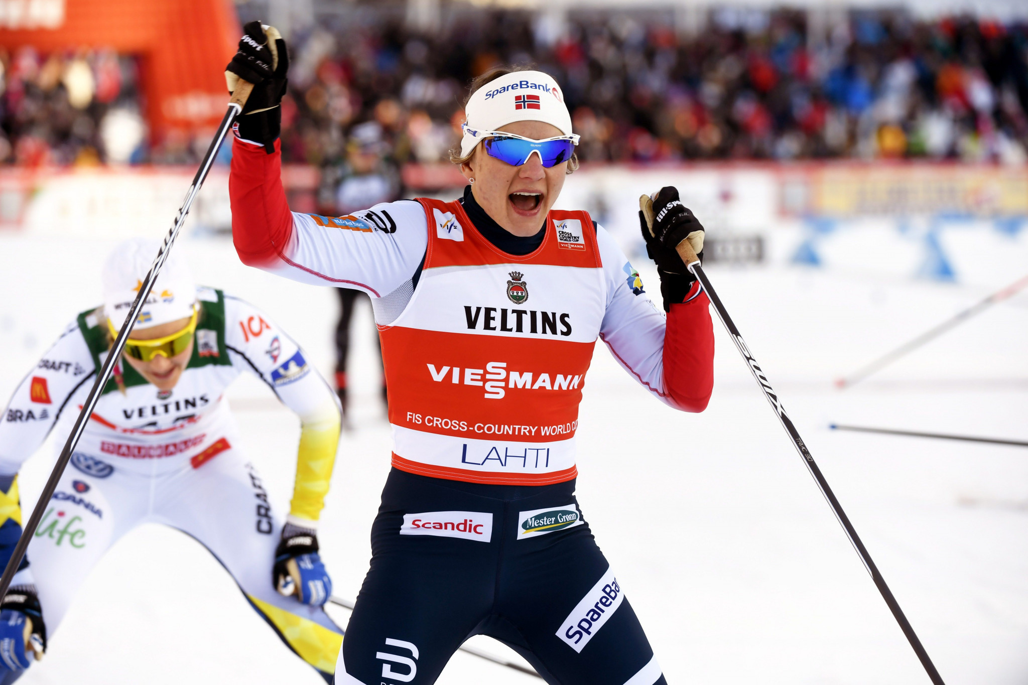 Falla moves to brink of overall sprint title with victory at FIS Cross-Country World Cup in Drammen