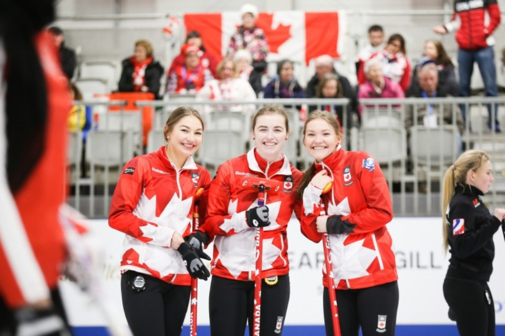 Canada secured their progression to the next round of competition ©WCF