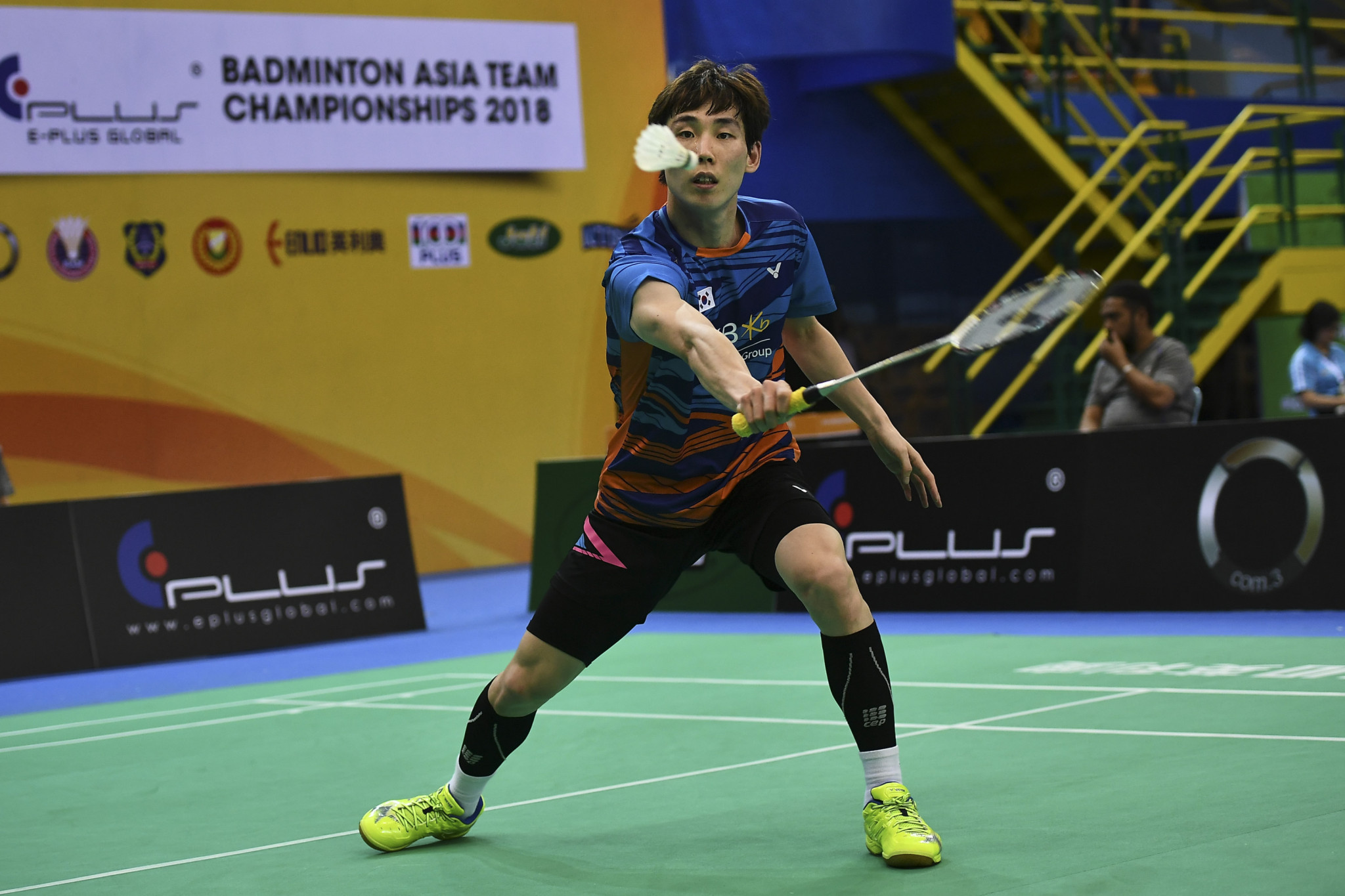 Nishimoto stuns top seed Son with shock first round victory at BWF German Open