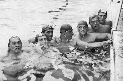 Sandor Tarics was a member of the victorious Hungary water polo team at the 1936 Berlin Olympics ©Getty Images
