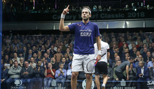 Elshorbagy brothers to clash in PSA Canary Wharf Classic semi-finals