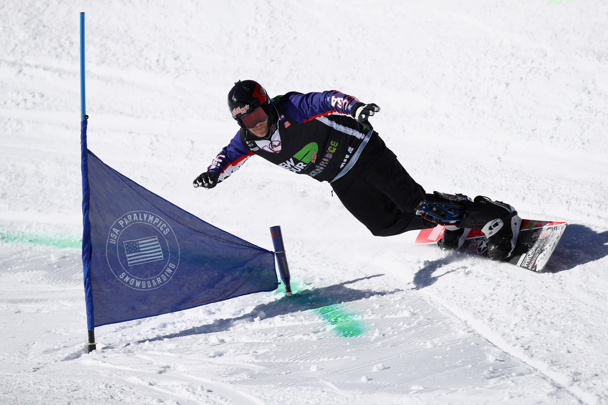 Mike Schultz has emerged as one of the top snowboarders in the world since joining the United States team in 2015 ©Getty Images