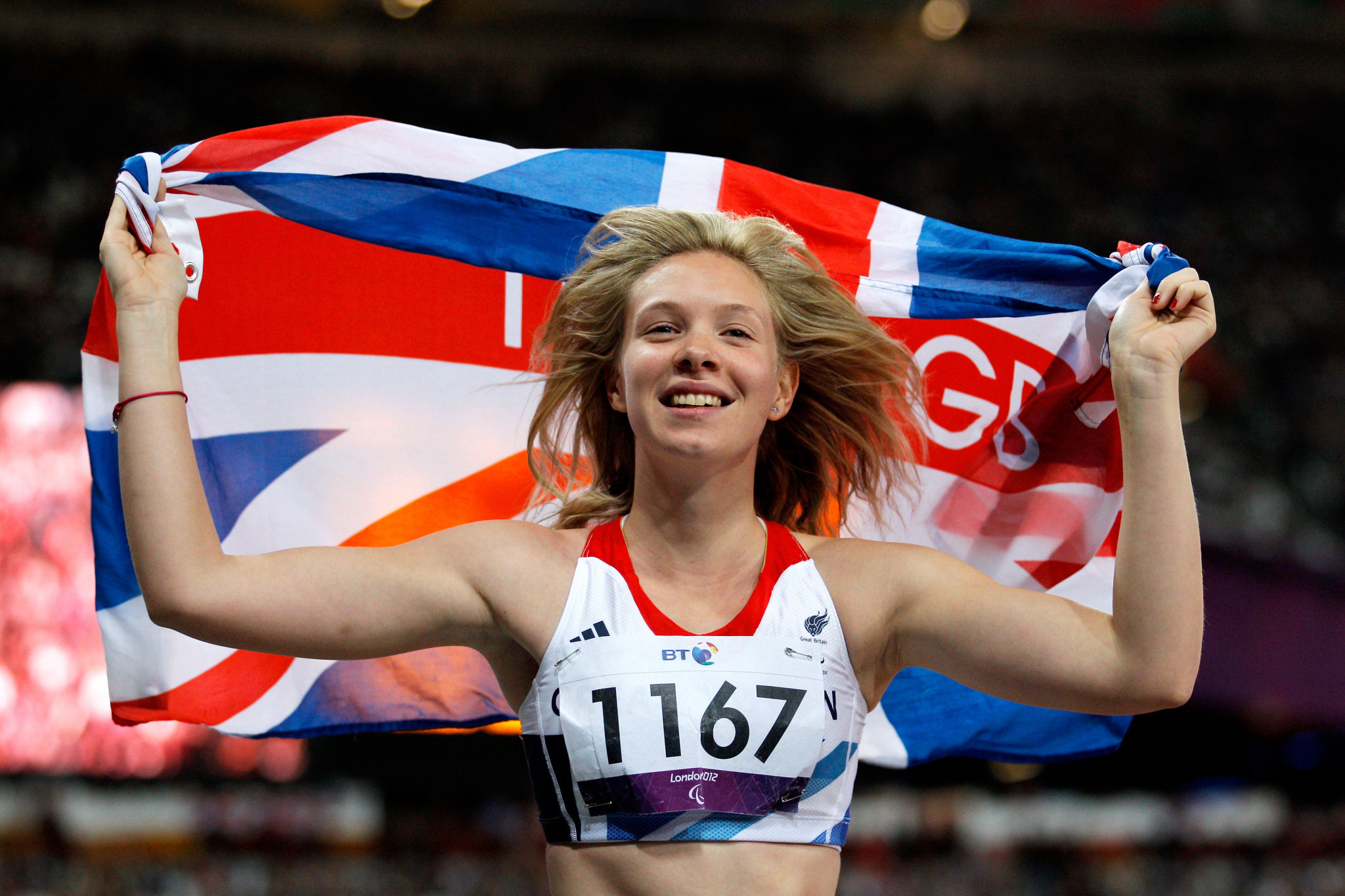British sprinter Bethany Woodward quit competition racing in 2015 over the issue of classification ©Getty Images