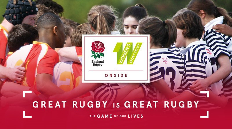 England Rugby and the Women's Sport Trust have partnered to support the Onside campaign ©England Rugby