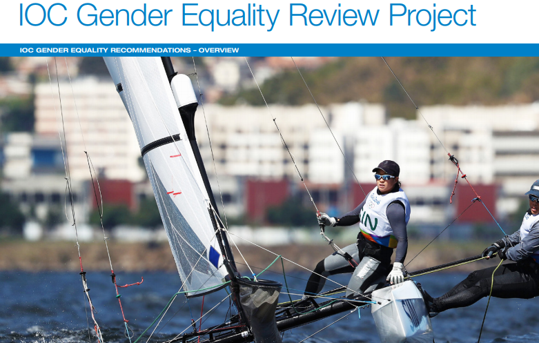 The IOC has published its Gender Equality Review Project to coincide with International Women's Day ©IOC