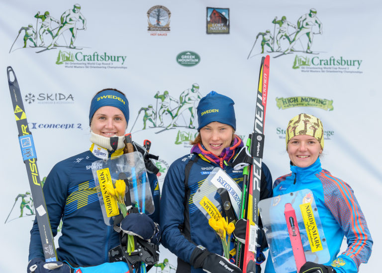 Alexandersson doubles up on day of Swedish success at Ski Orienteering World Cup Final