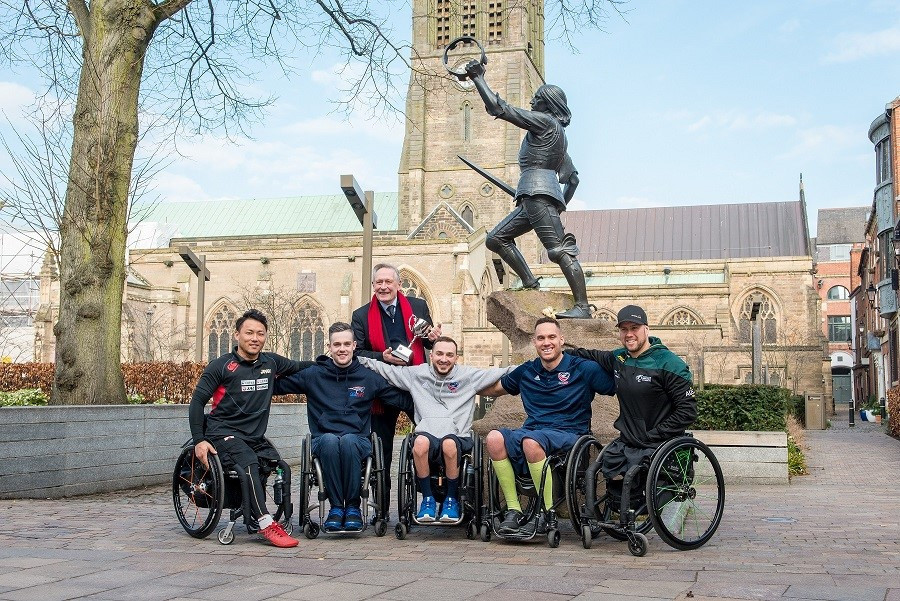 Leicester poised to host wheelchair rugby's inaugural Quad Nations