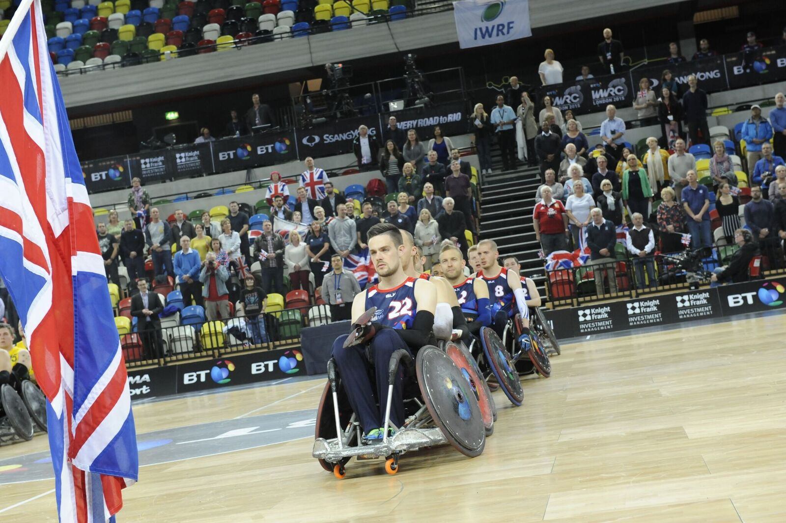 Britain will welcome all three Paralympic medallists to Leicester ©GBWR