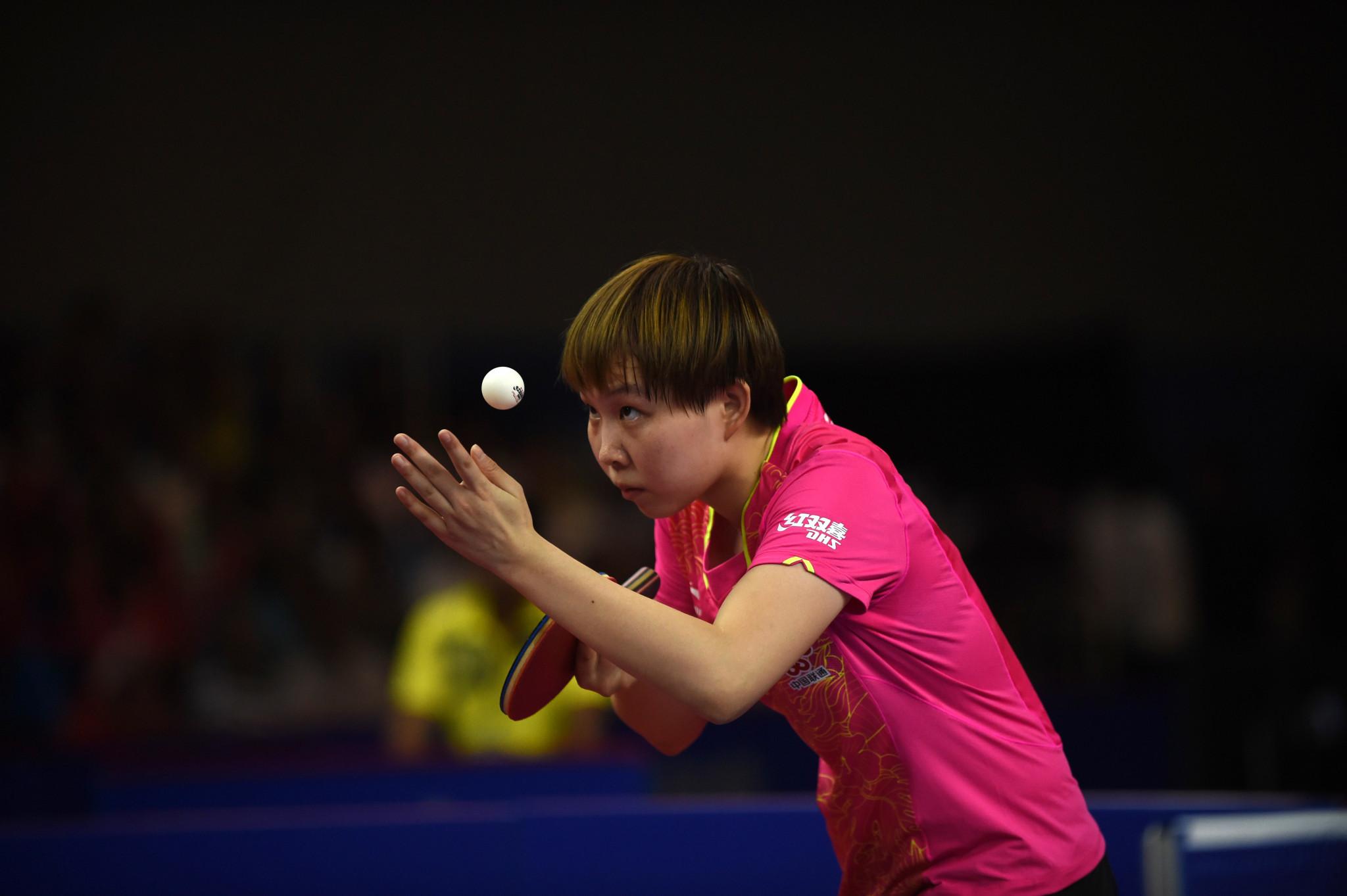 Zhu suffers defeat as main draw begins at ITTF Qatar Open