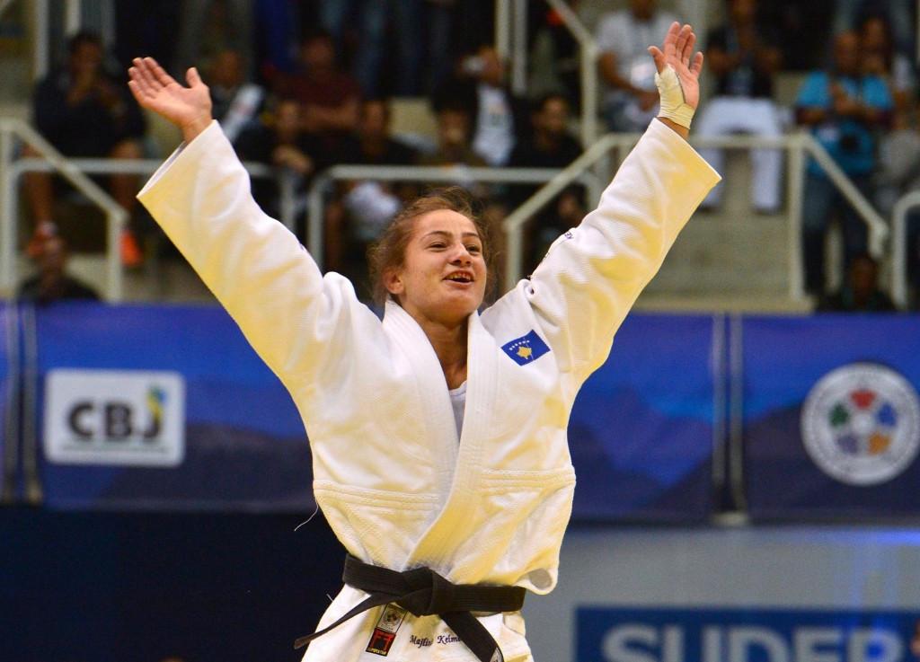 Kosovo's Majlinda Kelmendi was one of elite athletes who promoted the day ahead of the Abu Dhabi Grand Slam