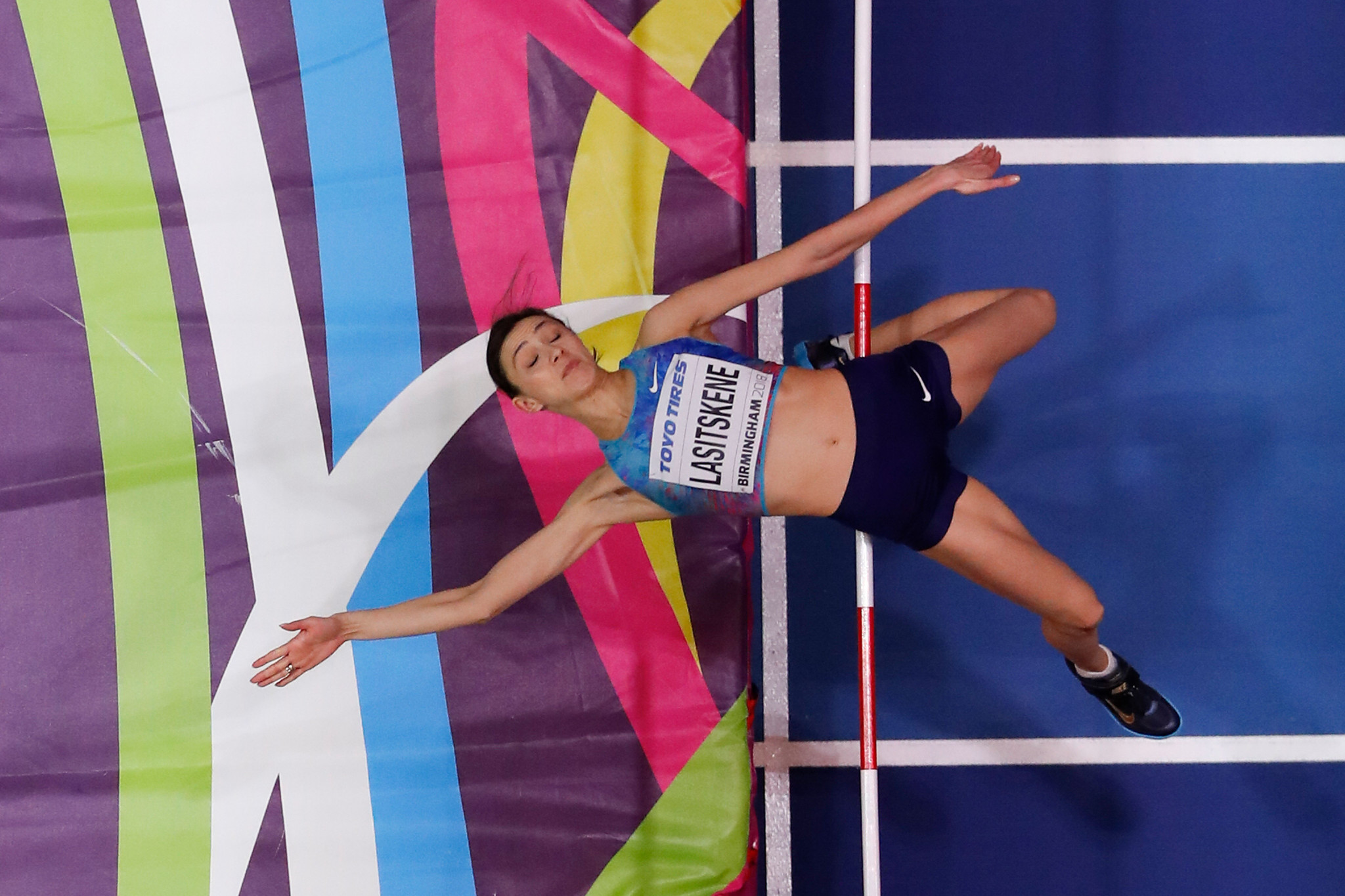 Mariya Lasitskene is the reigning world high jump champion indoor and outdoor ©Getty Images