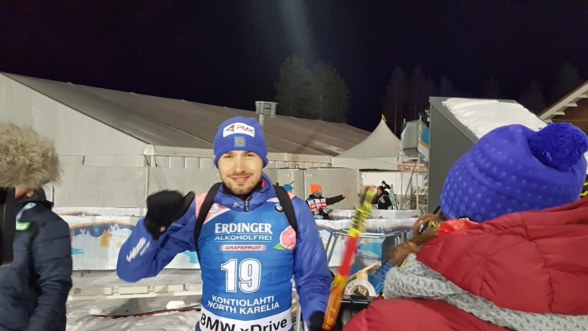 Shipulin gains first Russian victory of IBU World Cup season