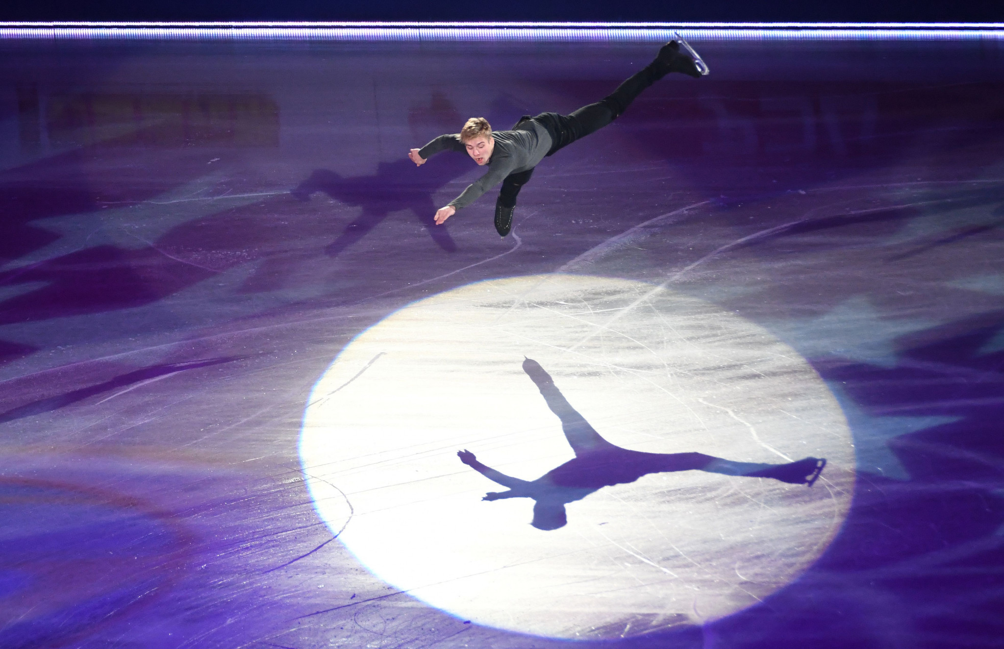 Alexei Krasnozhon excelled in the short programme ©Getty Images