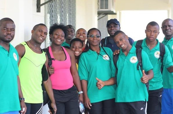 Cameroon are one of the nations to have arrived in Apia ahead of the Opening Ceremony of the Commonwealth Youth Games ©Samoa 2015/Facebook