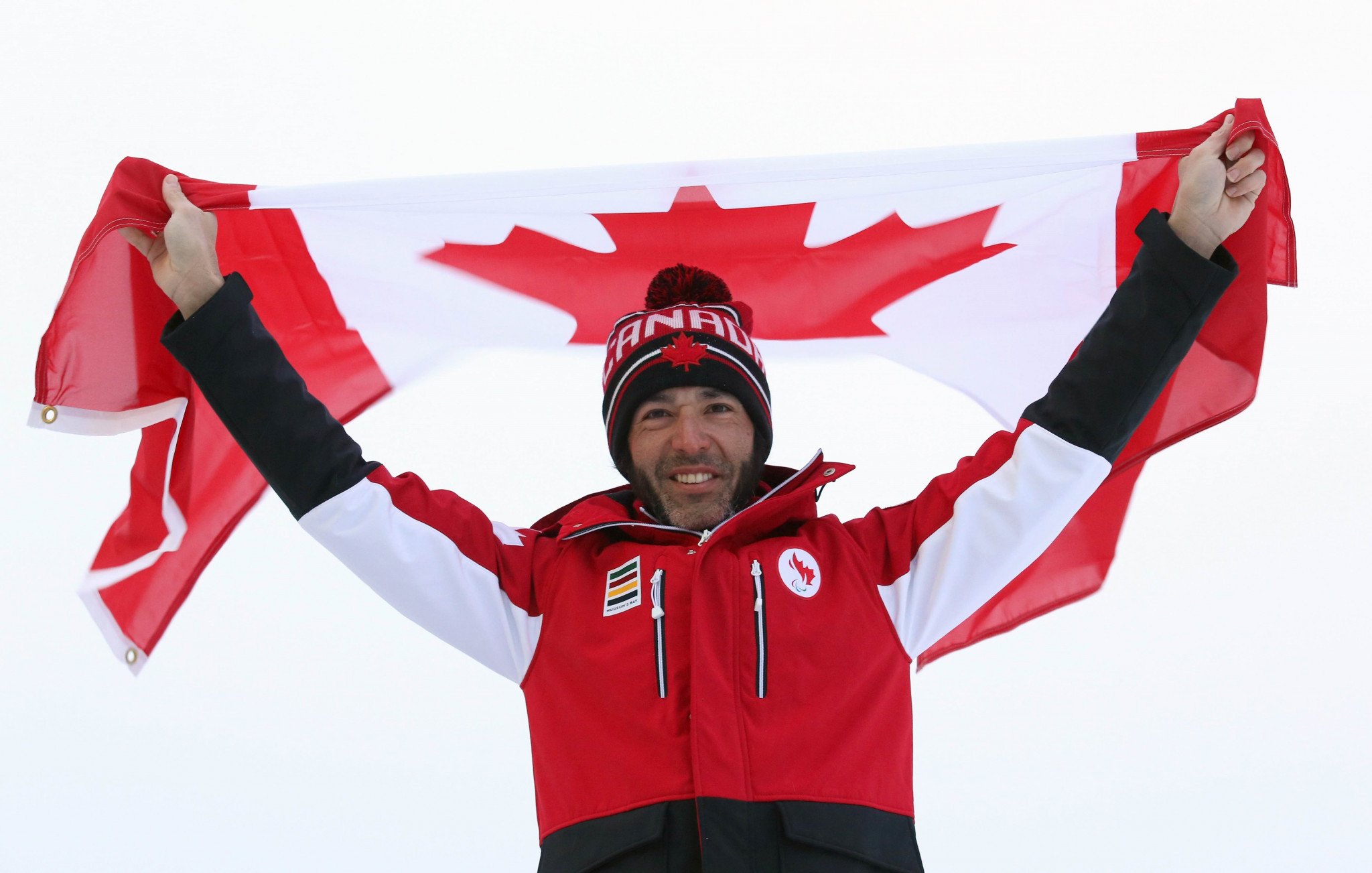 Cross-country skier Brian McKeever has been chosen as Canada's flagbearer for tomorrow's Winter Paralympic Games Opening Ceremony in Pyeongchang ©Scott Grant/CPC