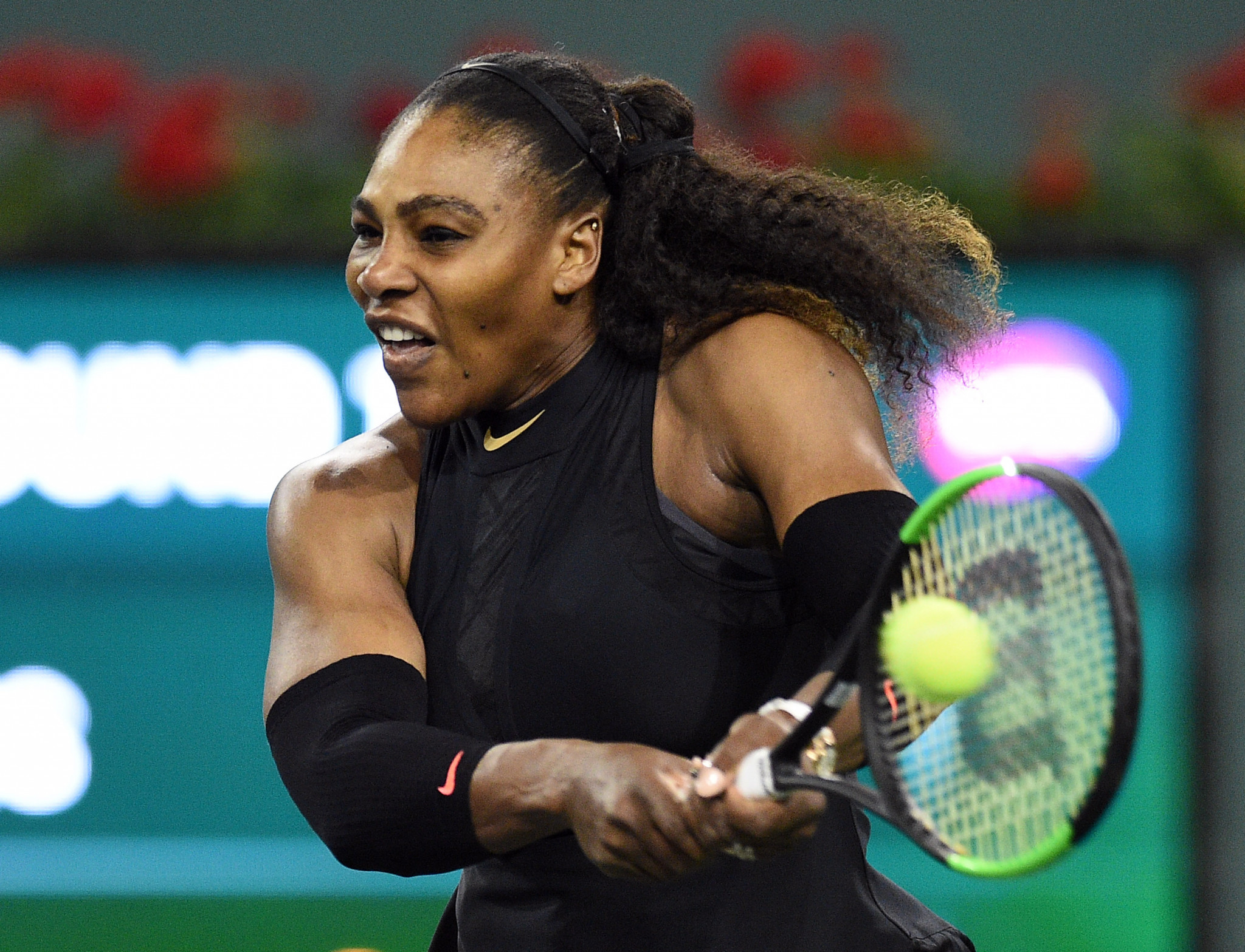 Williams sisters to face each other in Indian Wells Masters third round