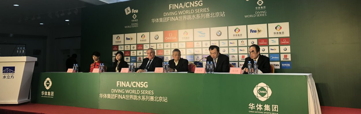 FINA have announced a four-year partnership with the China National Sport Group during the Beijing event ©FINA