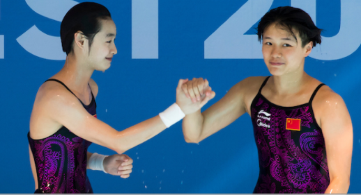 China dominated a day of synchronised finals ©FINA
